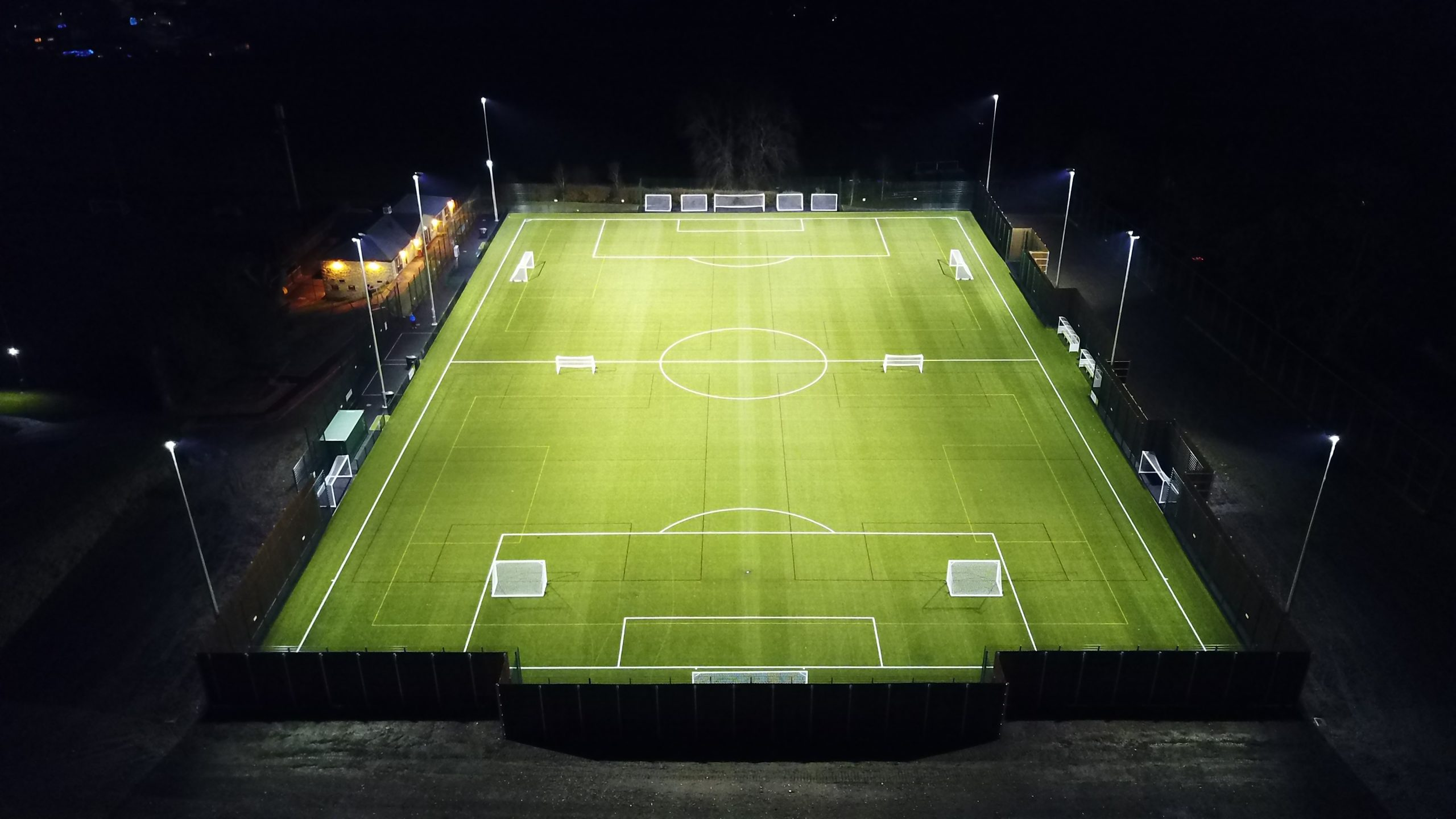 richmond school 3g football pitch halliday lighting